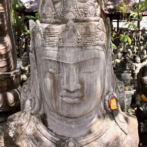 Buddha Büste Stein 190 cm