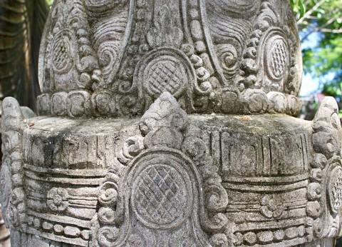 Buddha Büste 190 cm Details