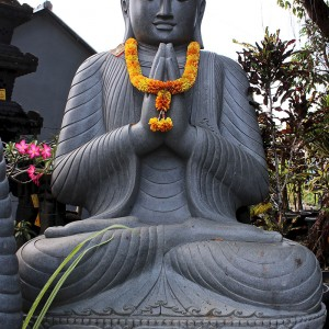 Buddha Statue Lavastein 230 cm