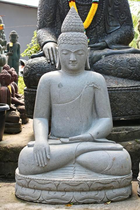 Buddha Statue Lavastein 140 cm