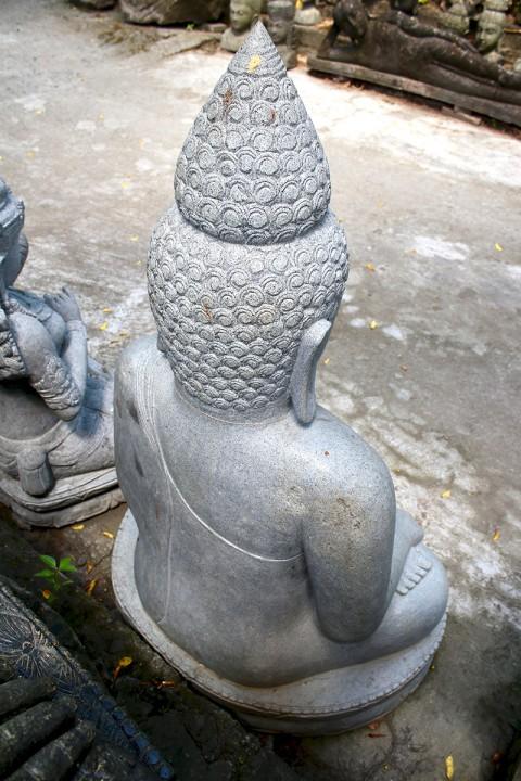 Buddha Statue 140 cm Rückseite