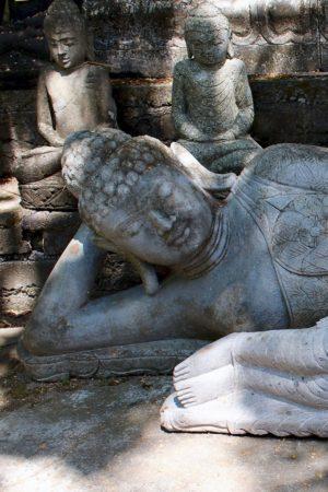 Liegende Buddha Figur 210 cm