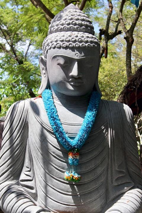 Buddha Statue Garten 210 cm