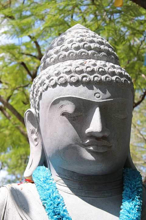 Buddha Statue 210 cm Front