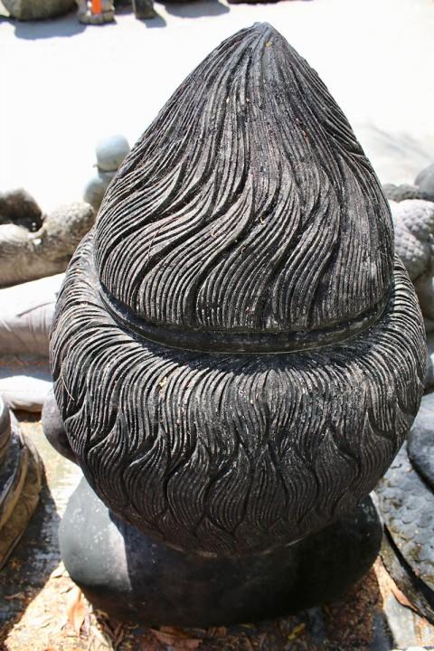 Buddha Büste 110 cm Rückansicht
