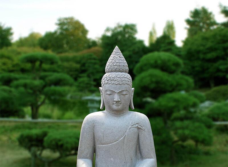 Buddha aus Lavastein